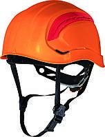 Каска GRANITE WIND для высотных работ, храповик Оранжевый