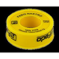 Фум-лента FADO 12 мм / 0,1 мм / 12 м / 0,7 г газ