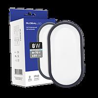 Светильник LED  8W 5000K  овальный (1-HPL-002-Е) Global