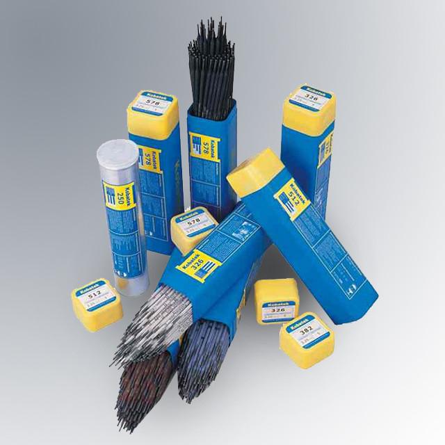 Наплавочные электроды для наплавки деталей буровых установок Kobatek 758