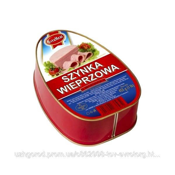 Свинная ветчина Evra Meat Szynka Wieprzowa 455 гр.