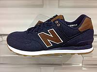 Кроссовки New Balance 574TXB джинс