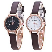 """Женские часы """"Huans"""" коричневый ремешок"""