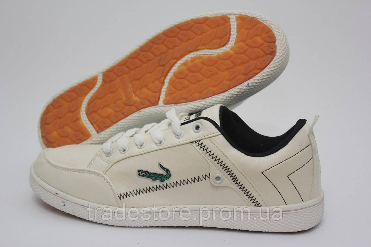 Кроссовки мужские Lacoste белые