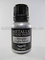 Краситель Rainbow Металлик Серебро