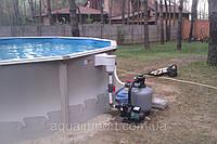 Установка сборно-щитовых бассейнов Atlantic Pools (Канада)