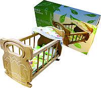 Кроватка для куклы №1 ArIn WOOD (03-101)