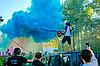Балон з Фарбою Холі, 1 кг. (Баллон с Красокой Холи, Гулал), для фествиалів, флешмобів, фото