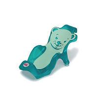 Горка Buddy для купания младенцев, цвет зеленый (37940010/33)