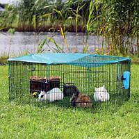 Вольер Trixie для кроликов с сеткой 6 секций, 58х38 см