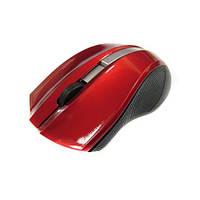 Беспроводная оптическая мышка мышь 145 Red, фото 1