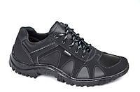 Кроссовки спортивные туфли мужские удобные стильные черные. Со скидкой