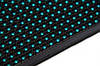 LED дисплей P10BO, голубой, 16х32см, 15W, 3A, 512 led