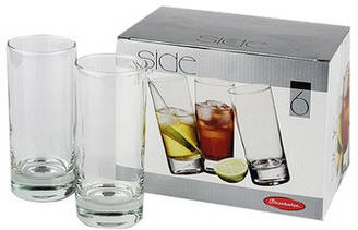 Набор стаканов из стекла 6 шт Сайд