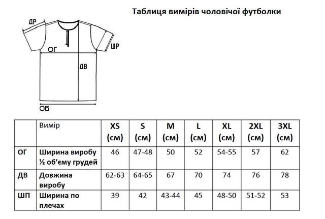 Сучасна чоловіча вишиванка футболка