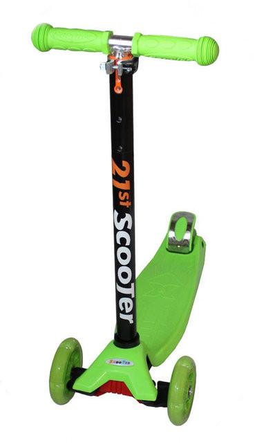 Дитячий самокат триколісний Scooter Maxi Adjustable