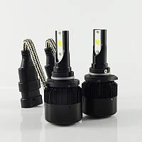 Мощные автомобильные светодиодные LED лампы головного света C6S I-LIGHT с цоколем HB3 (9005)