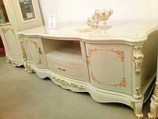 Гостиная в классическом стиле Неаполь Sof, цвет кремовый + патина золото, фото 3