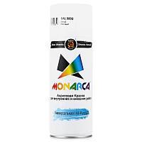 Краска аэрозольная MONARCA RAL 9003 Белый глянцевый