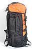 Туристичний рюкзак The North Face на 80 літрів (синій,хакі,синій), фото 3