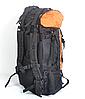 Туристичний рюкзак The North Face на 80 літрів (синій,хакі,синій), фото 4