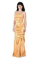 """Вечернее платье """"Опера"""", 44-46, персиковый"""