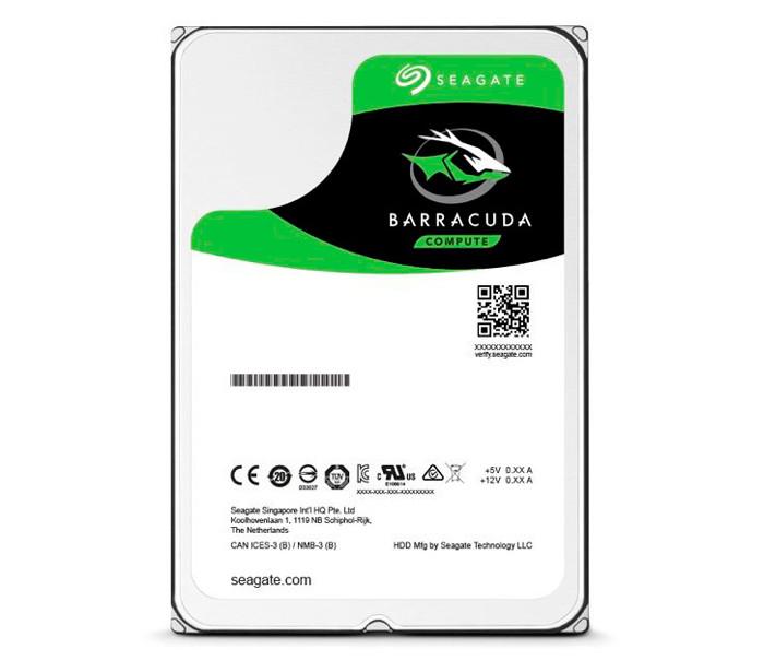 Жесткий диск для ноутбука 2 Тб Seagate BarraCuda, SATA 3, 128Mb, 5400