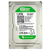 Жесткий диск для компьютера 1Tb Western Digital Green, SATA3, 64Mb, 5400 rpm (WD10EZRX) (Ref)