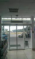 Автоматические двери для офисных зданий