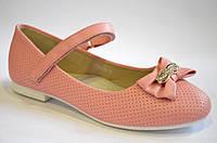 Туфли  детские розовые