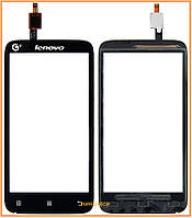 Сенсор (тачскрин) Lenovo A398T Black Original