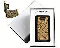 """Спиральная USB-зажигалка """"Hengda"""" №4782-4, практичный аксессуар для стильных мужчин"""