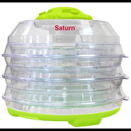 Сушилка для продуктов Saturn ST-FP0112 салатовая-прозрачная, фото 2