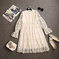 Кружевное платье, 2 цвета, фото 1