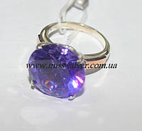 Кольцо с большим камнем Николь, фото 1