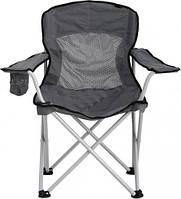 Раскладной стул для отдыха Синевир 6010: алюминий/ ткань оксфорд 600D, нагрузка 100 кг, 53х85х85 см