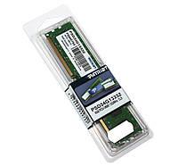Оперативная память для компьютера 4Gb DDR3, 1333 MHz (PC3-10600), Patriot, 9-9-9-24, 1.5V (PSD34G13332)