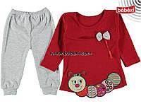 Костюм туника+лосинки для девочки 1-2 года (маломерка)