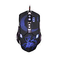 Игровая мышь RAJFOO 7D Mute FOX 3200 dpi