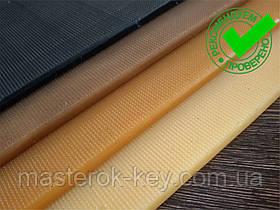 Полиуретан обувной ШОСТКА EXTRA LUX рифлёный 200*400*6 мм цвет коричневый