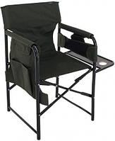 Компактный стул Росава с подставкой, мебель туристическая складная, 50х53х83 см, max 110 кг