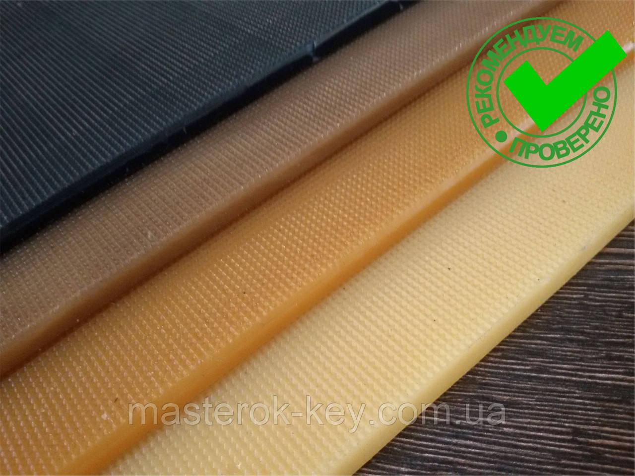 Полиуретан обувной ШОСТКА EXTRA LUX рифлёный 290*130*6 мм, цвет коричневый