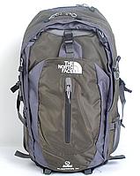 Рюкзак туристический The North Face на 40 л - зеленый