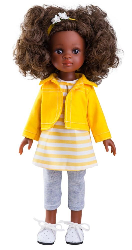 """Кукла Paola Reina Нора в ярко-желтом 32 см (04440) - Интернет-магазин игрушек """"Parktoys-парк игрушек"""" в Днепре"""