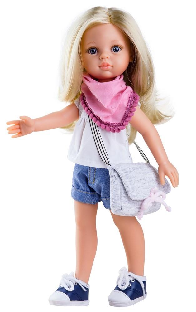 """Кукла Paola Reina Клаудия с сумочкой 32 см (04441) - Интернет-магазин игрушек """"Parktoys-парк игрушек"""" в Днепре"""