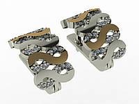 Серебряные серьги Арт.411