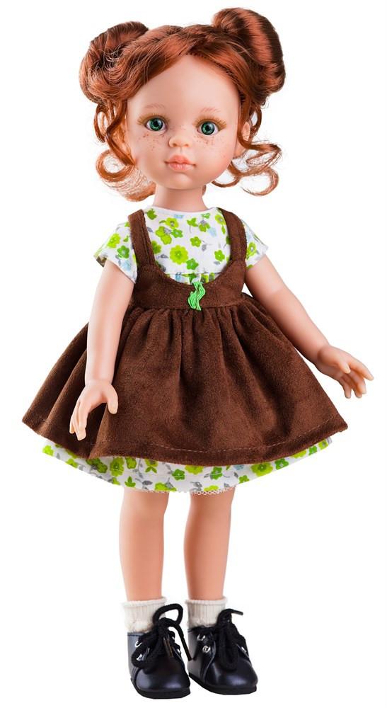 """Кукла Paola Reina Кристи в сарафане 32 см (04442) - Интернет-магазин игрушек """"Parktoys-парк игрушек"""" в Днепре"""