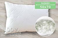 Подушка стеганная ткань микрофибра наполнитель холлофайбер 50 х 70 см