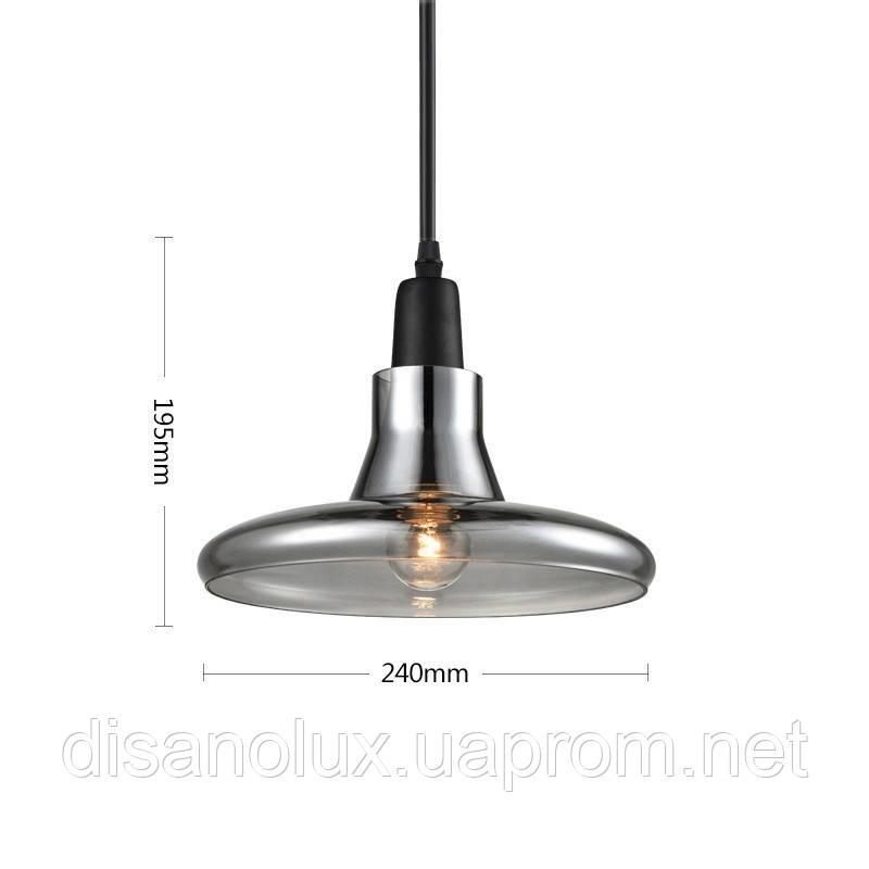 Светильник LOFT  DL -D240 GRAY E27
