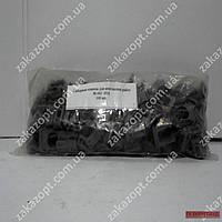 Крепёж для труб клипса д16 100шт/уп чёрн.